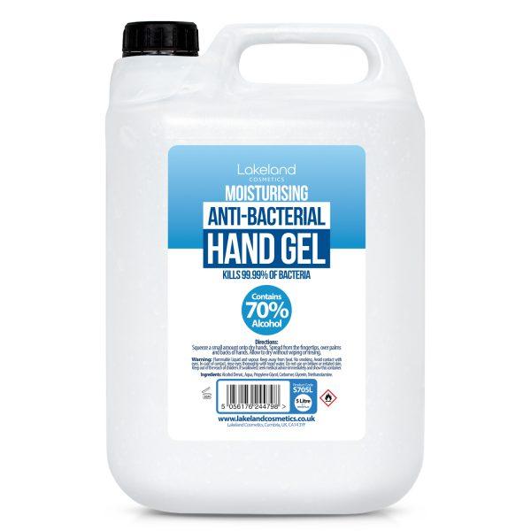 5 litre hand sanitiser gel